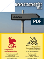 Semesterprogramm SoSe 2011
