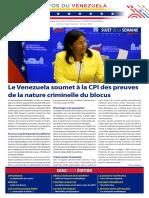 Venezuela Informează| Buletin Săptămânal 27.08.2021 - versiune limba franceza