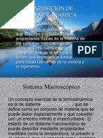 EXPOSICIÓN DE TERMODINÁMICA