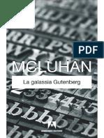 Marshall McLuhan - La galassia Gutenberg
