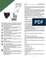Manual de Utilizare Receptor Radio Si 2 Emitatoare Cerber Telcom TC15U Cod Saritor 434 MHz 30 m
