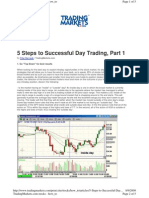 5 STEPS TO DAY TRADE