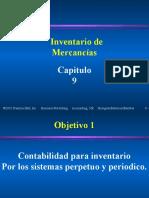 CAP. 09 INVENTARIO DE MERCANCIAS