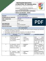 GUIA DE CIENCIAS FILOSOFIA #3  11°