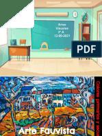 Arte Fauvista, colores primarios y secundarios (Clase jueves 12 agosto 2021) Artes visuales  3° A.pptx