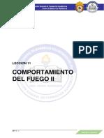 MP - LECCIÓN 11 - COMPORTAMIENTO DEL FUEGO II - MP - 2021
