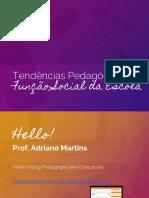 Tendências Pedagógicas Para Concurso de Professores | Pedagogia para Concursos