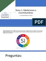 Tema 1 - 1.1 Las Mediciones en La Física