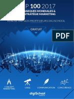 LE TOP 100 DES GRANDES MARQUE DU MONDE_strategie