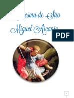 Livro Devocionário Quaresma de São Miguel Arcanjo Milicia 1