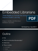 Embedded Librarians