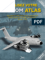 Airbus A400M Atlas Aircraft Paper Model