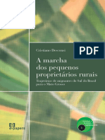 A Marcha Os Pequenos Proprietários Rurais No Mato Grosso_livro_Desconsi