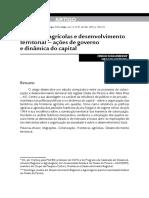 Fronteiras Agrícolas e Desenvolvimento Territorial_ Schallenberger