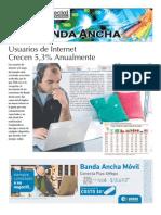 Estrategia. Especial Banda Ancha en Chile