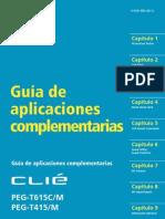 Sony Clie PEG-T415, T615C - Guia de aplicaciones complementarias