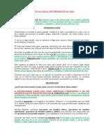 LUZ EN LA CALLE OSCURIDAD DE LA CASA (PREDICA)