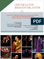 ESTUDIO DE LA VOZ presentacion 2021