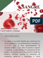 Sangre e inmunidad 2013 Gomez y Gutierrez