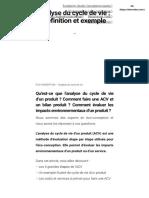Analyse du Cycle de Vie _ définition, exemple et combien ça coûte _