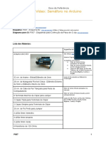 P007POR - Guia de Referência - Semáforo no Arduino