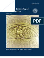 Federal Reserve Monetary Policy Report - Mar 2011