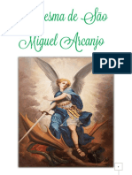 Livro Devocionario Quaresma de São Miguel Arcanjo Milicia 5, exército de São Miguel