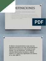 Diapositivas Efectivo y Equivalentes