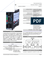 PMC719 Conversor RS232-C  RS485