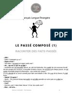Passe Compose Exercices-correction