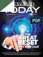 Beyond Today Magazine -- September/October 2021