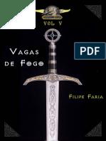 Cronicas de Allaryia Vol v Vagas de Filipe Faria