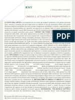 ZONA E DINTORNI - Omega-3 Attualità e Prospettive (1^ Parte)
