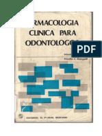 Farmacologia Clinica Para Odontologos Capitulo.