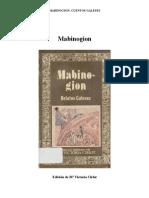 Mabinogion Cuentos Celtas