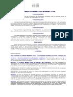 Acuerdo Gub. 23-99