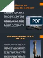 maquinas eolicas de eje vertical o aereogeneradores verticales