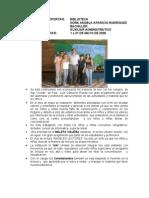 Informe CCC San Gil mes de mayo de 2008