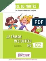 Jocatop 6006 Guide Dictees Ce2