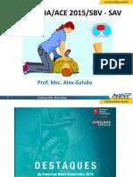 RCP e ACE AHA-SAV 2015