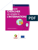 comment chercher un emploi à l'international