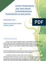 Implikasi falsafah pendidikan timur barat islam pau