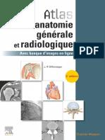Atlas d'anatomie générale et radiologique 2e 2019