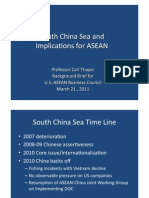 Thayer The South China Sea and ASEAN