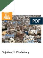 Objetivo 11_ Ciudades y comunidades sostenibles _ El PNUD en México