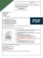 Gabarito Exercícios Citoplasma