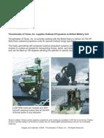 British Navy News Release