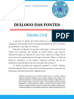 Dialógo Das Fontes
