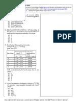 Soal kimia UM UGM 2006