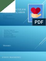 PRIMEROS AUXILIOS preHOSPITALARIOS (1)